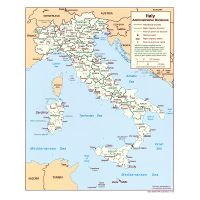 Large Map Of Italy With Regions.Large Map Of Wine Regions Of Italy Italy Europe Mapsland