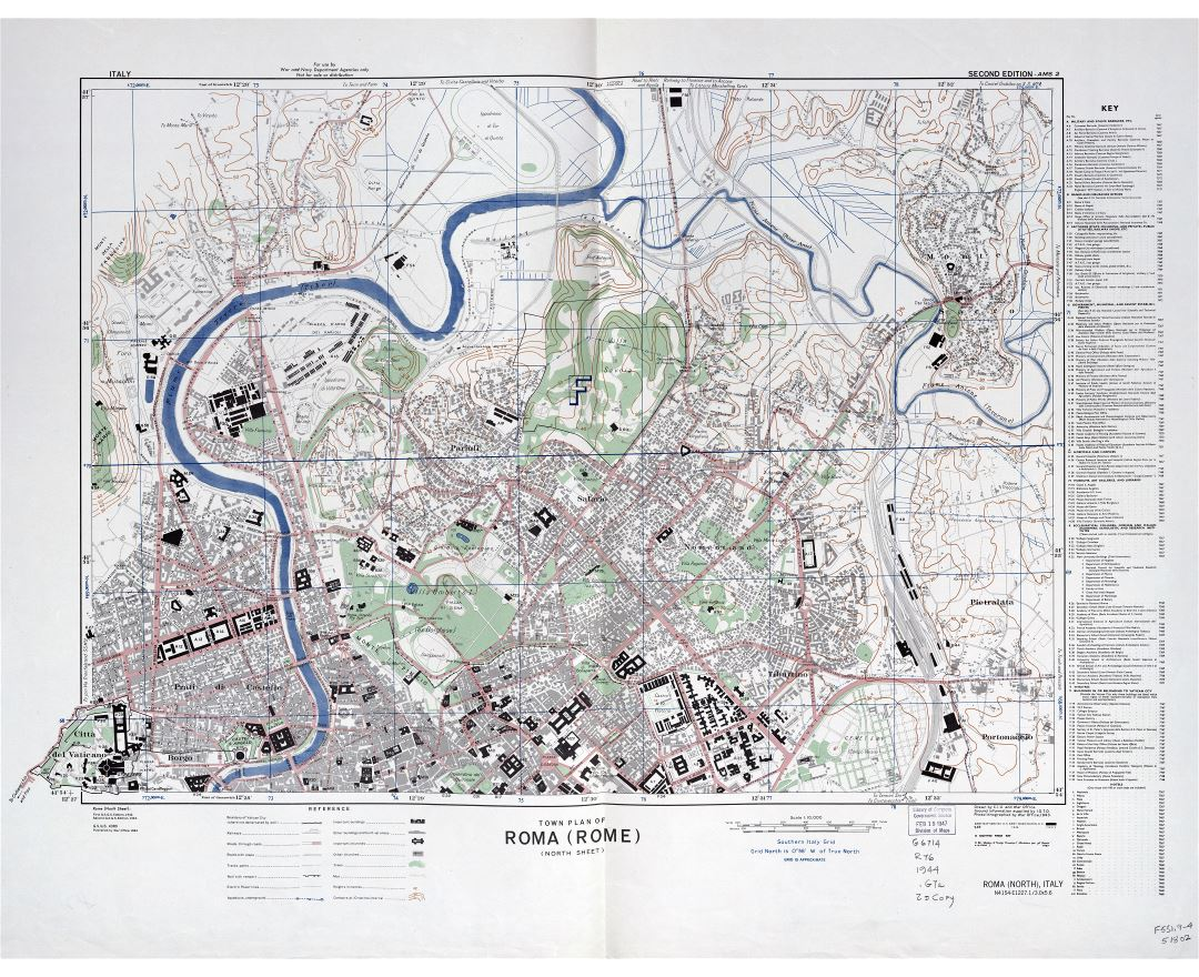 Maps of Rome Detailed map of Rome in English Tourist map travel
