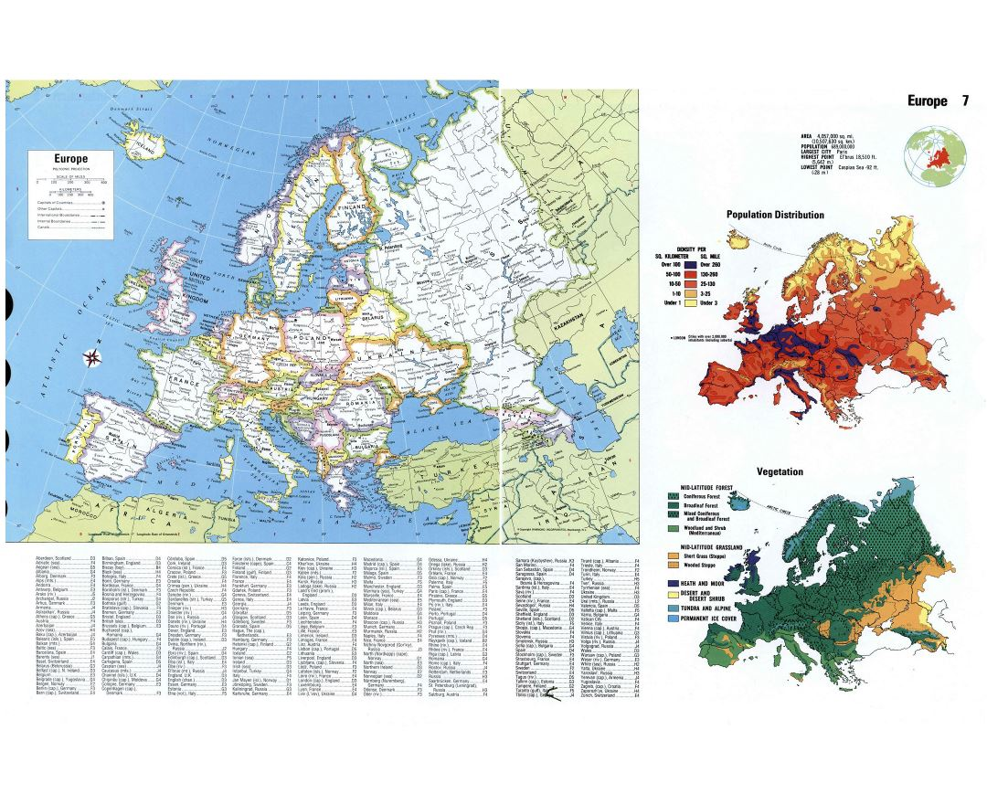 Latitude Map Of Europe.Maps Of Europe And European Countries Collection Of Maps Of Europe