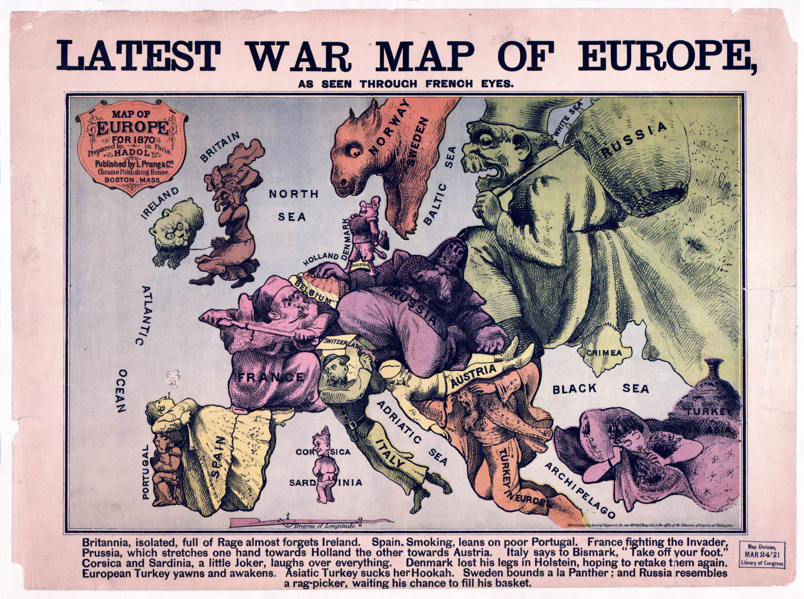 map of europe 1875 Large detailed Latest War map of Europe   1835 1875 | Old maps of
