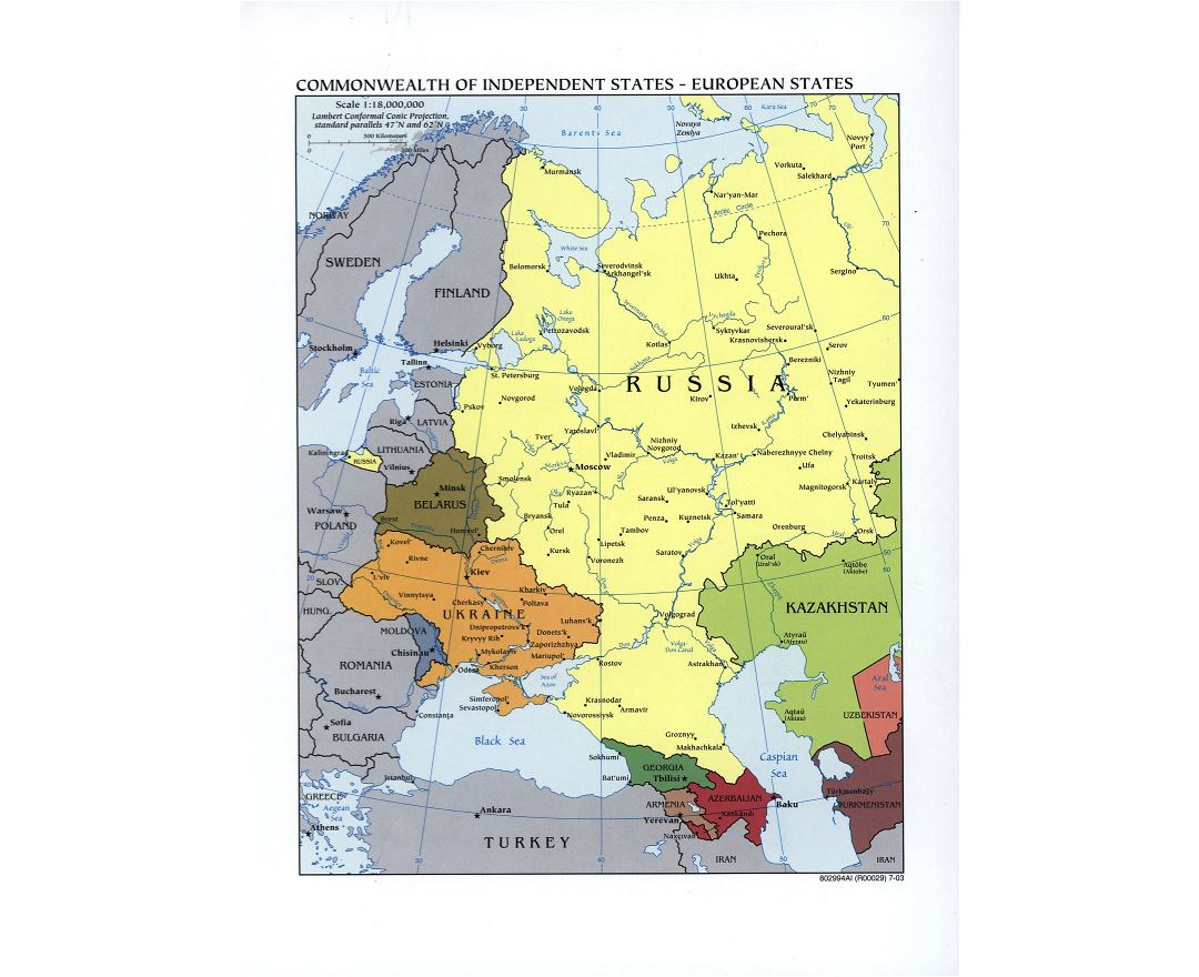 Other maps of Europe Collection of detailed other maps of Europe