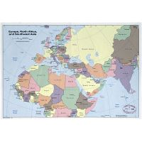 map of europe middle east and north africa Large Detailed Political Map Of Europe North Africa And Southwest map of europe middle east and north africa