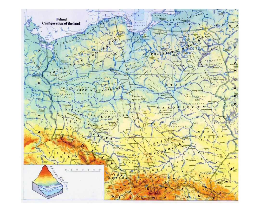 A New Map Of Poland auto radio wiring diagrams