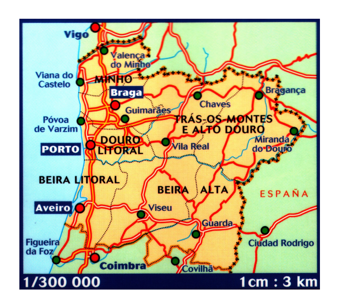 Detailed map of Northern Portugal with large cities and ... on portugal on map, portugal spain map, portugal industries map, portugal rivers map, portugal travel map, portugal airports map, portugal country map, portugal politics, portugal map europe, portugal deserts map, portugal weather map, portugal food map, portugal regions map, portugal capital map, portugal terrain map, portugal geography map, portugal tourism map, portugal mountains map, portugal districts map, portugal religion map,