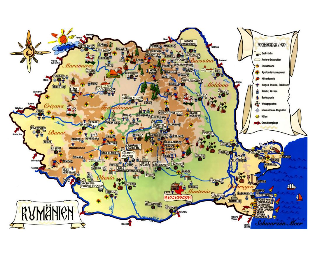 Maps of romania detailed map of romania in english tourist map tourist map of romania gumiabroncs Image collections