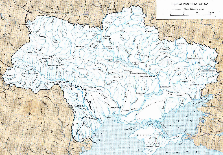 Detailed Rivers Map Of Ukraine In Ukrainian Ukraine Europe - Map of ukraine