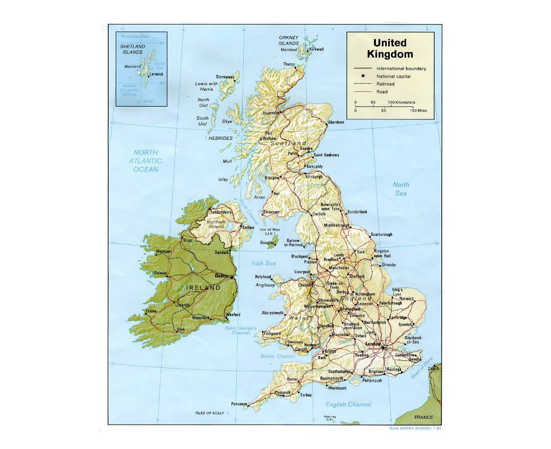Map Of England Showing Major Cities.Maps Of United Kingdom Collection Of Maps Of United Kingdom