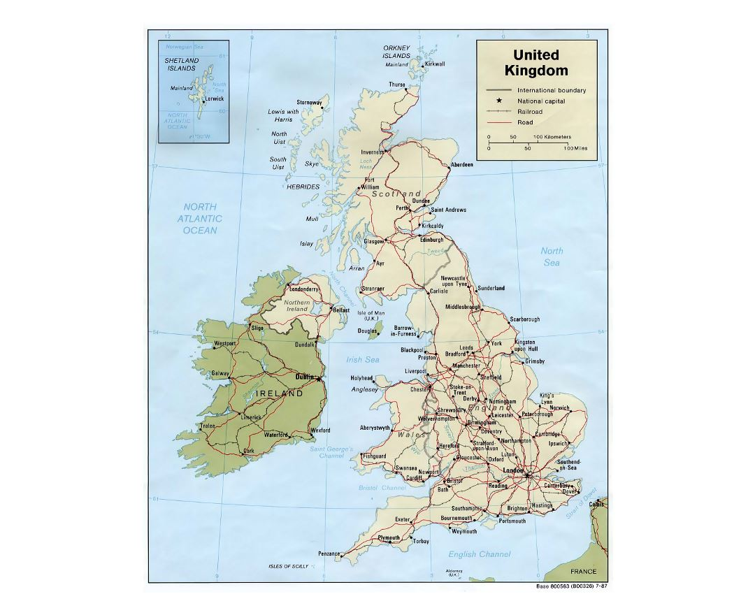 Detailed Road Map Of England.Maps Of United Kingdom Collection Of Maps Of United Kingdom