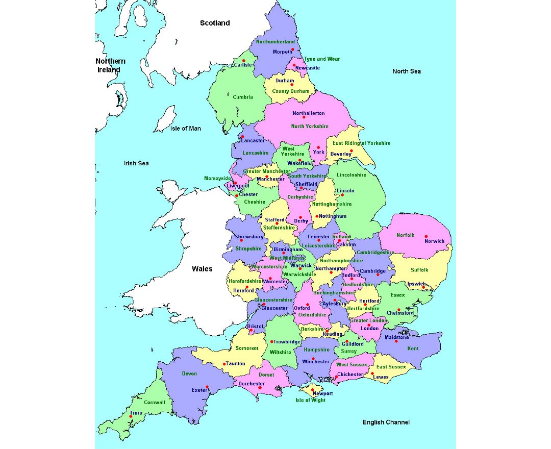Map Of England 6th Century.Maps Of England Collection Of Maps Of England United Kingdom