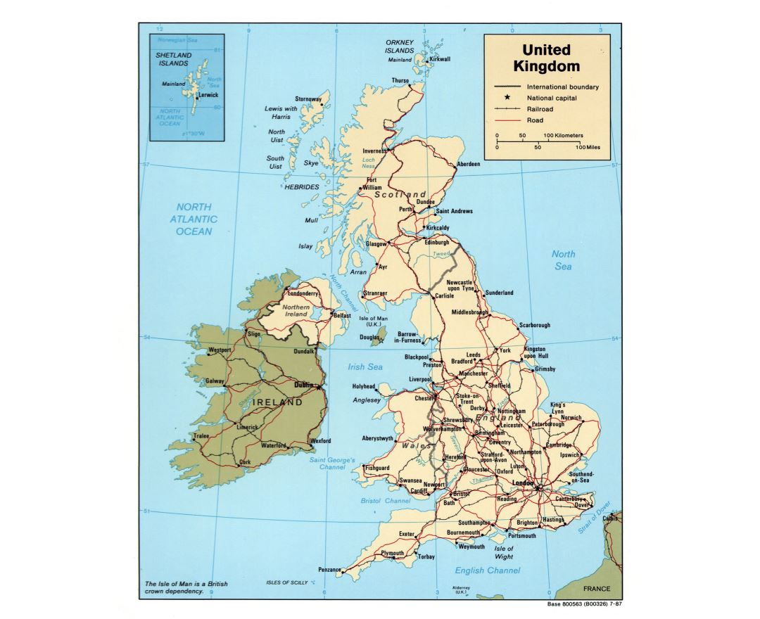 Political Map Of Great Britain.Maps Of United Kingdom Collection Of Maps Of United Kingdom