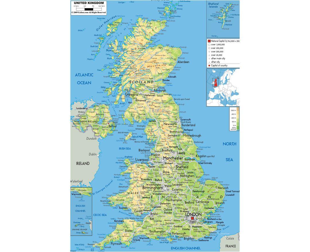 Map Of Uk Roads.Maps Of United Kingdom Collection Of Maps Of United Kingdom