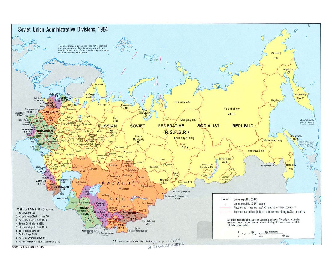 soviet union map europe Maps Of U S S R Collection Of Maps Of Soviet Union Europe