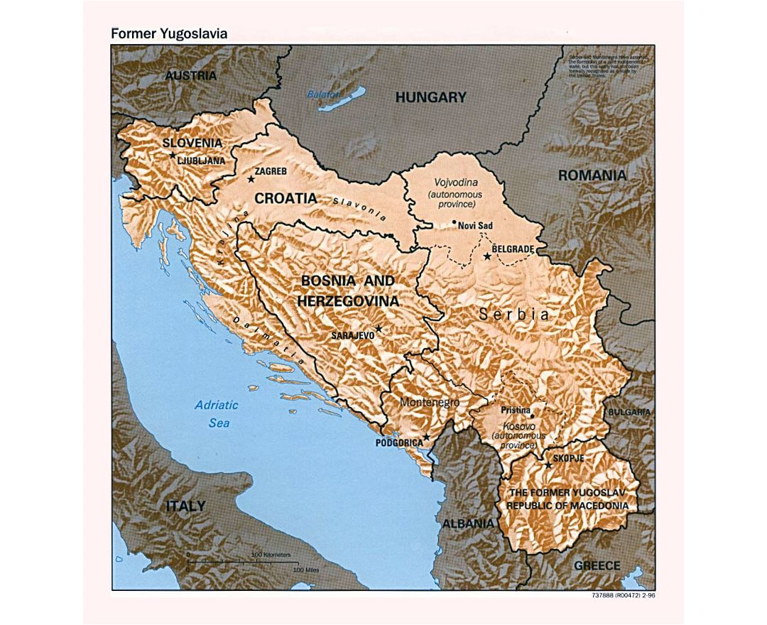 an analysis of the former yugoslavia Analysis montenegro treaty memberships this is part of the treaty memberships collection of pdfs  get the facts on former yugoslavia intermittently pursued a nuclear weapons program from the 1940s to 1987 produced significant quantities of blister and nerve agents before the 1990s.