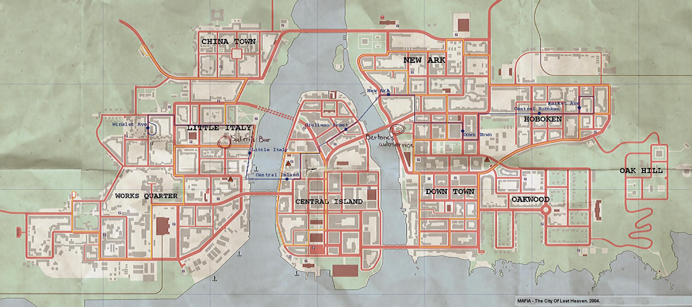 Mafia sur Xbox Large-map-of-mafia-1