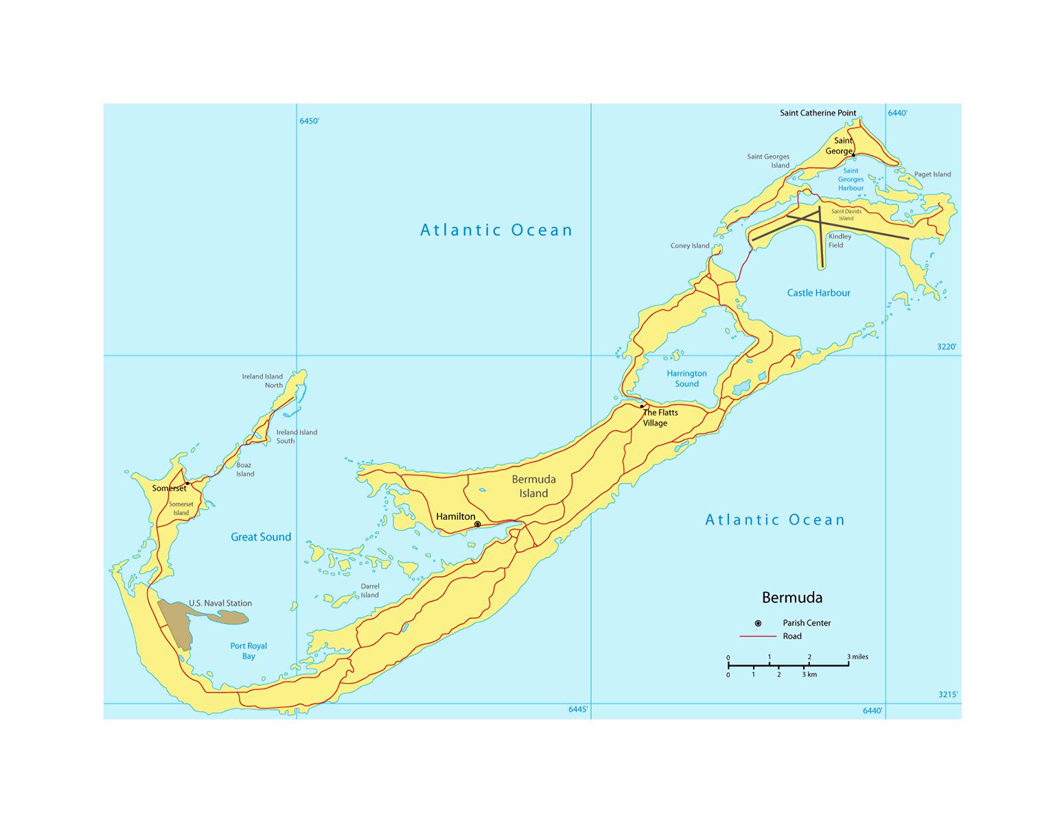 Detailed map of Bermuda with roads and cities | Bermuda ... on driving map of bermuda, language of bermuda, political map of bermuda, weather of bermuda, full map of bermuda, detailed world map, map of the bermuda, map of pembroke bermuda, satellite map of bermuda, map of caribbean islands and bermuda, world map bermuda, small map of bermuda, street map of bermuda, order a map of bermuda, road map of bermuda, google maps bermuda, photographs of bermuda, printable map of bermuda, map showing bermuda,