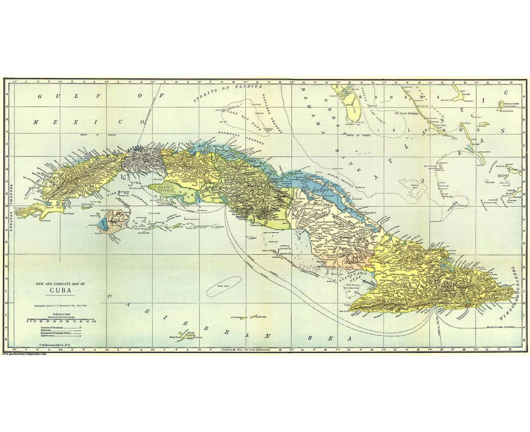 Maps of Cuba | Detailed map of Cuba in English | Tourist map (travel ...
