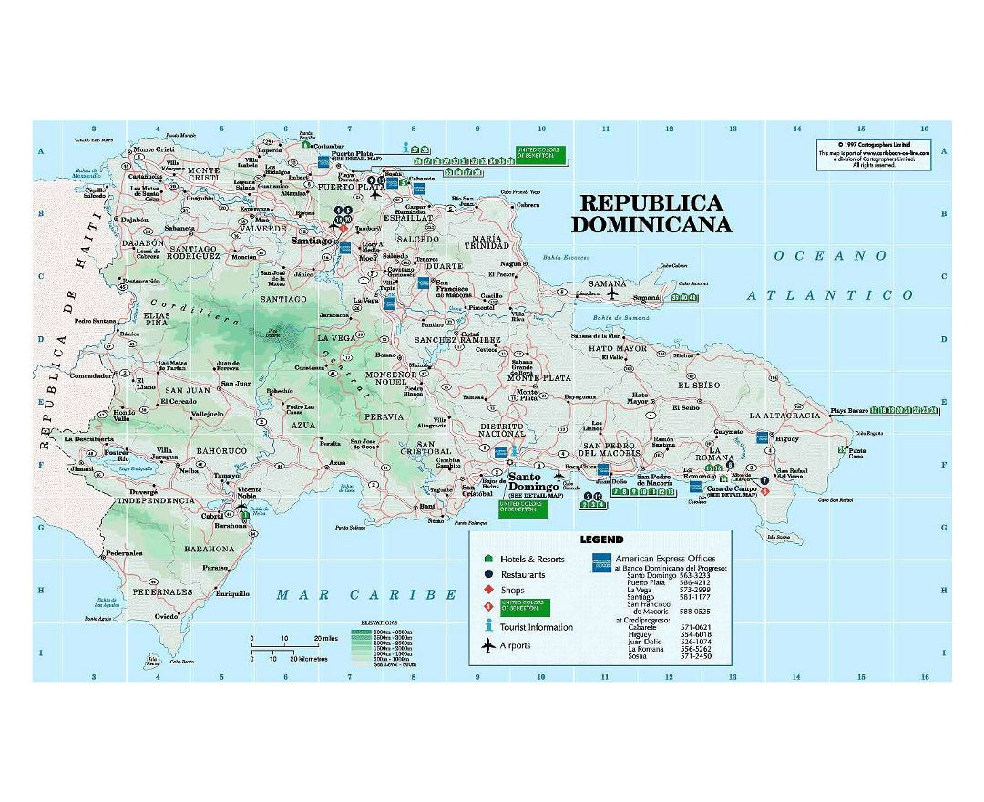 Maps Of Dominican Republic Detailed Map Of Dominican Republic In - Map of the dominican republic