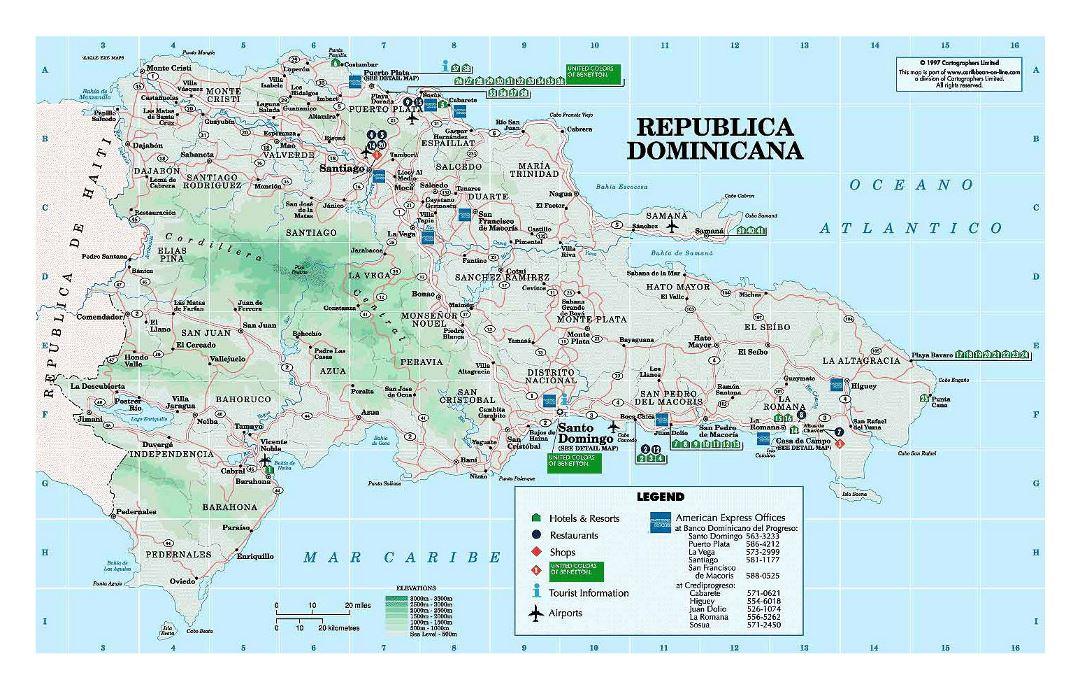 Dominican Map Republic