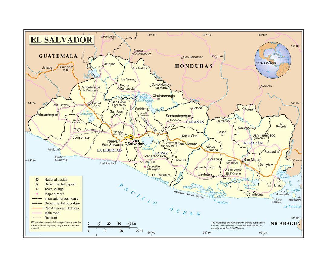 Maps of El Salvador | Collection of maps of El Salvador ... Salvador With Map Of Cities on map of isla margarita, map of campinas, map of san pedro de atacama, map of bissau, map of guatemala, map of regions of brazil, map of culiacan, map of south of the border, map of san pedro de macoris, map of asunción, map of ciudad del este, map of pereira, map of san pedro la laguna, map of central america, map of ilhabela, map of antarctic sound, map of sunset boulevard, map of la serena, map of honduras, map of san cristobal de las casas,