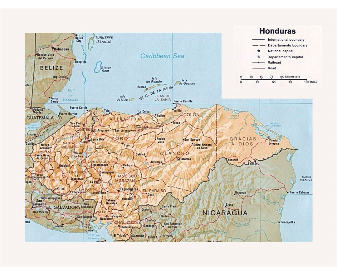 Maps of Honduras | Collection of maps of Honduras | North ... Cities Map Of Honduras on map of san bernardino county cities, map of oceania cities, map of eastern united states cities, map of s korea cities, map of kosovo cities, map of luxembourg cities, map of rio grande cities, map of palau cities, map of guyana cities, map of ohio showing cities, map of the dominican republic cities, map of western tennessee cities, map of laos cities, map of niger cities, map of mississippi river cities, map of democratic republic of congo cities, map equatorial guinea cities, map of guam cities, map of gulf of california cities, map of burundi cities,