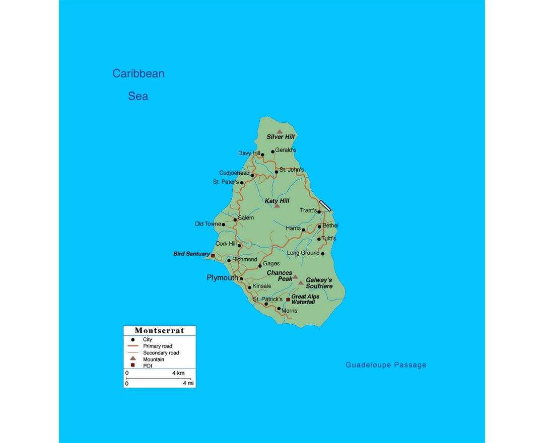 Maps of Montserrat Island | Collection of maps of Montserrat ... Map Of Montserrat Lesser Antilles In on in texas map, in asia map, in mexico map, in sweden map, in france map, in georgia map, in germany map, in china map, in usa map, in latin america map,