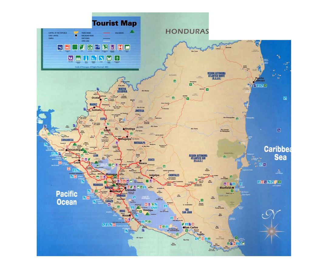 Maps of Nicaragua | Collection of maps of Nicaragua | North ... Map Nicaragua on americas map, dominican republic map, russia map, cayman map, peru map, qatar map, guam map, corn islands map, norway map, haiti map, carribean map, india map, cuba map, romania map, sri lanka map, honduras map, panama map, mexico map, puerto rico map, costa rica map,