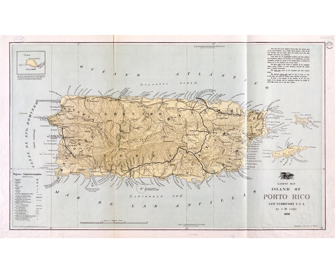 Maps of Puerto Rico | Detailed map of Puerto Rico in English ...