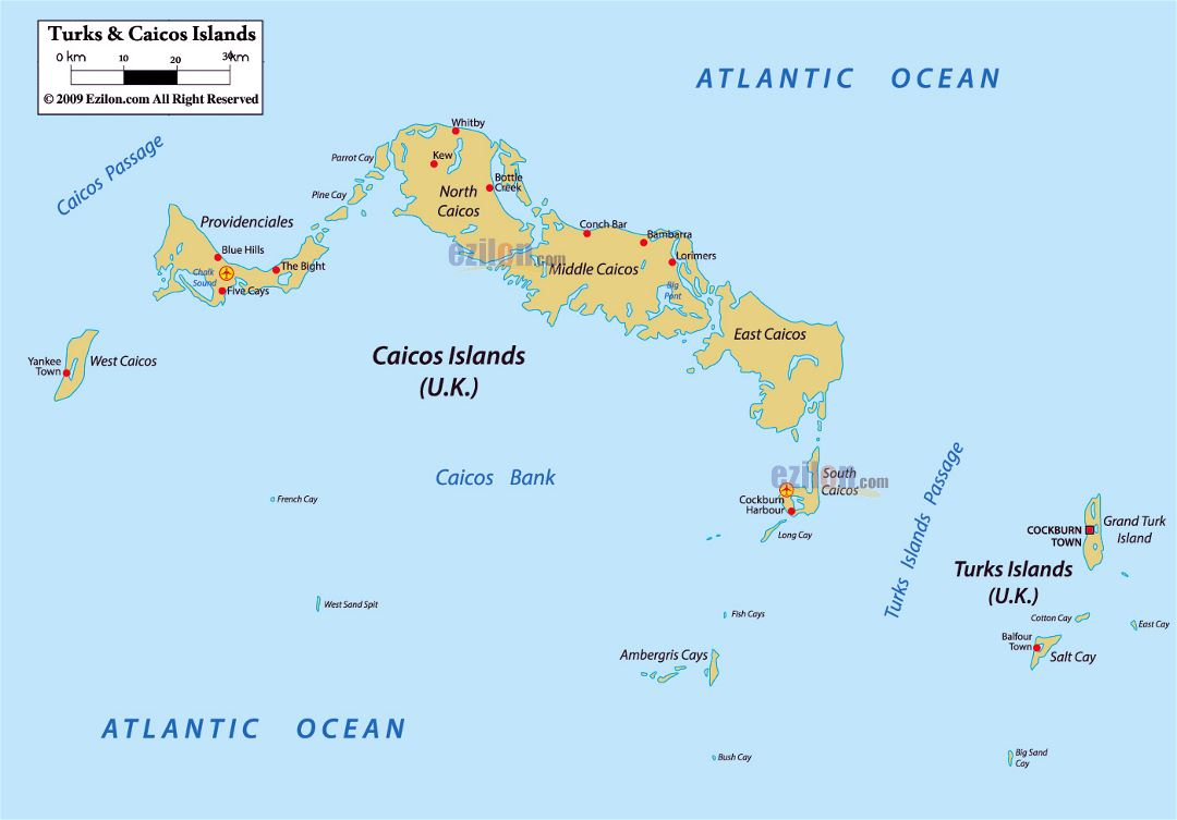 Information on the caribbean islands and bahamas