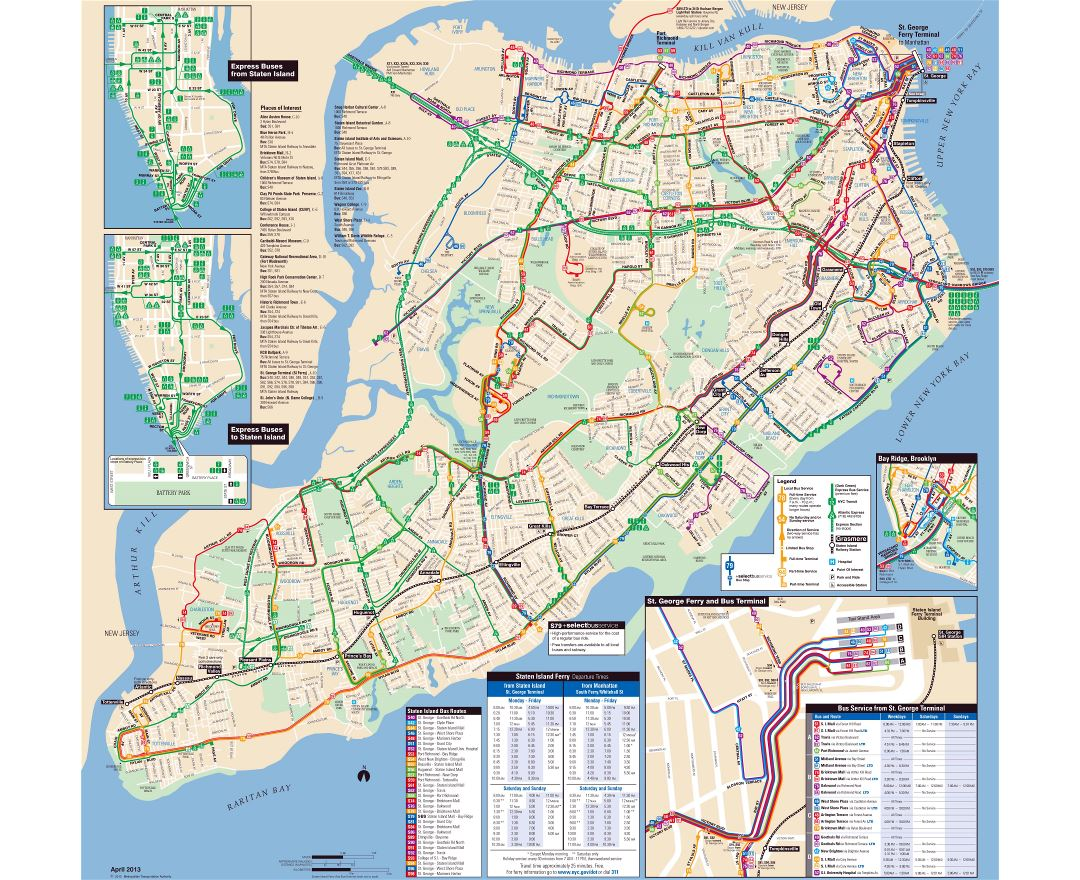 Mta Subway Map In 1990.Maps Of New York Collection Of Maps Of New York City Usa United
