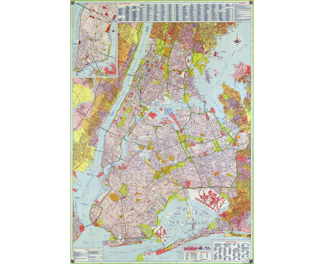 Maps Of New York Collection Of Maps Of New York City Usa United