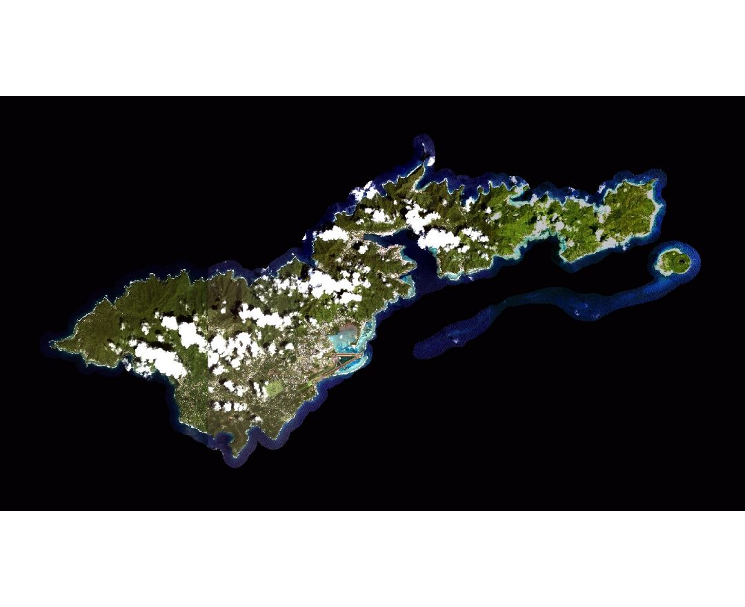 Maps Of American Samoa Detailed Map Of American Samoa In English - Satellite Map Of Southeast Us