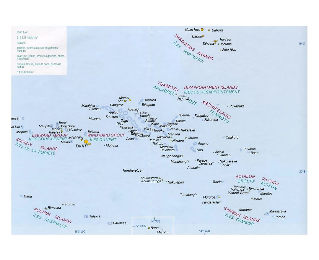 Picture of: Maps Of French Polynesia Collection Of Maps Of French Polynesia Oceania Mapsland Maps Of The World