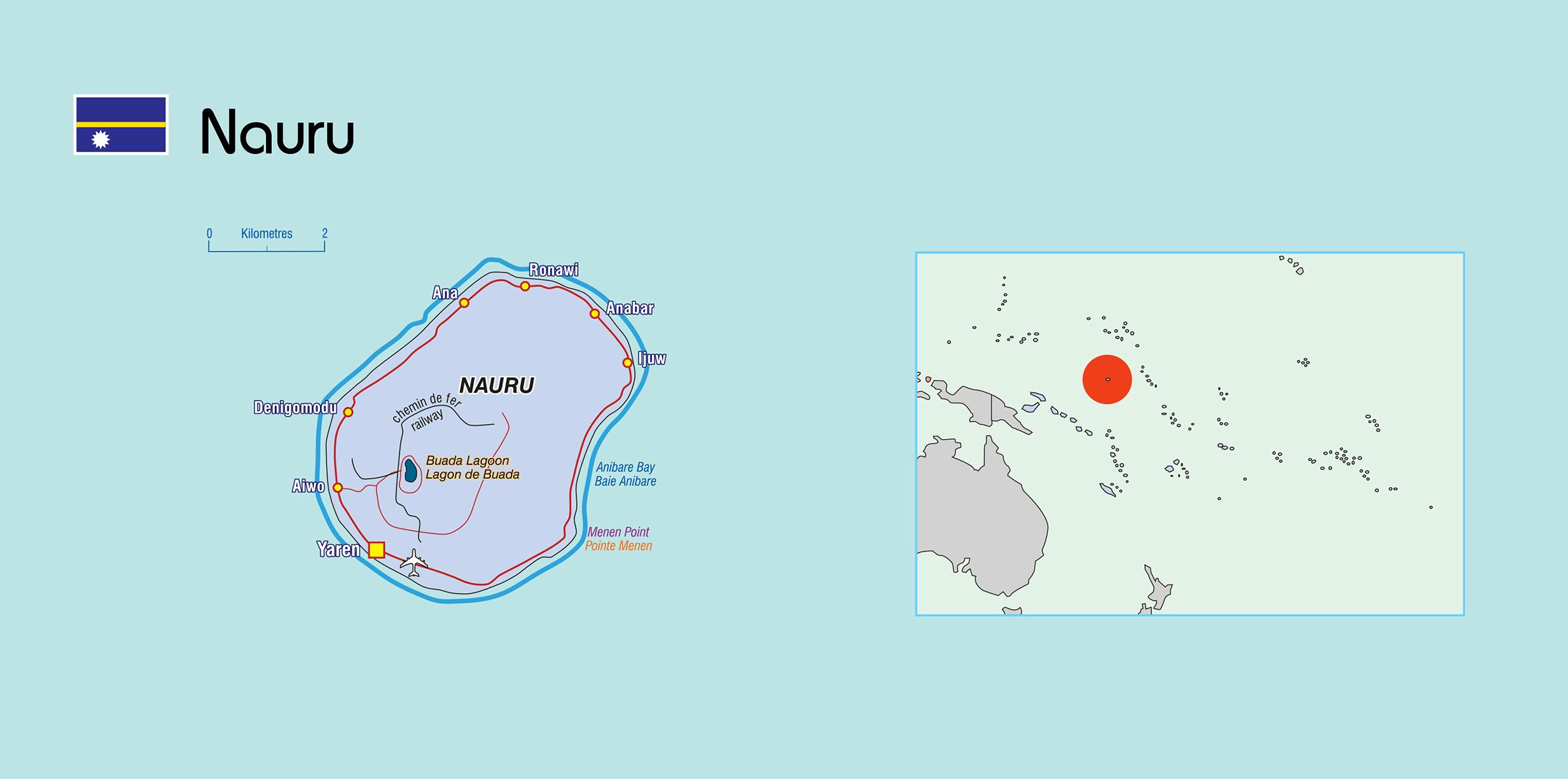 Large political map of Nauru with other marks | Nauru ... on tuvalu map, east timor map, saint kitts and nevis map, libya map, mauritius map, kiribati map, monaco map, liechtenstein map, morocco map, wake island map, new caledonia map, rwanda map, liberia map, algeria map, mauritania map, mozambique map, papua nueva guinea map, kenya map, congo map, senegal map, zimbabwe map, malawi map, new zealand map, sudan map, madagascar map, the marshall islands map, niue map, ghana map, mali map, namibia map, burundi map, saint pierre and miquelon map, tunisia map, angola map, niger map, timor-leste map, solomon islands map, cook islands map, netherlands map, oceania map,