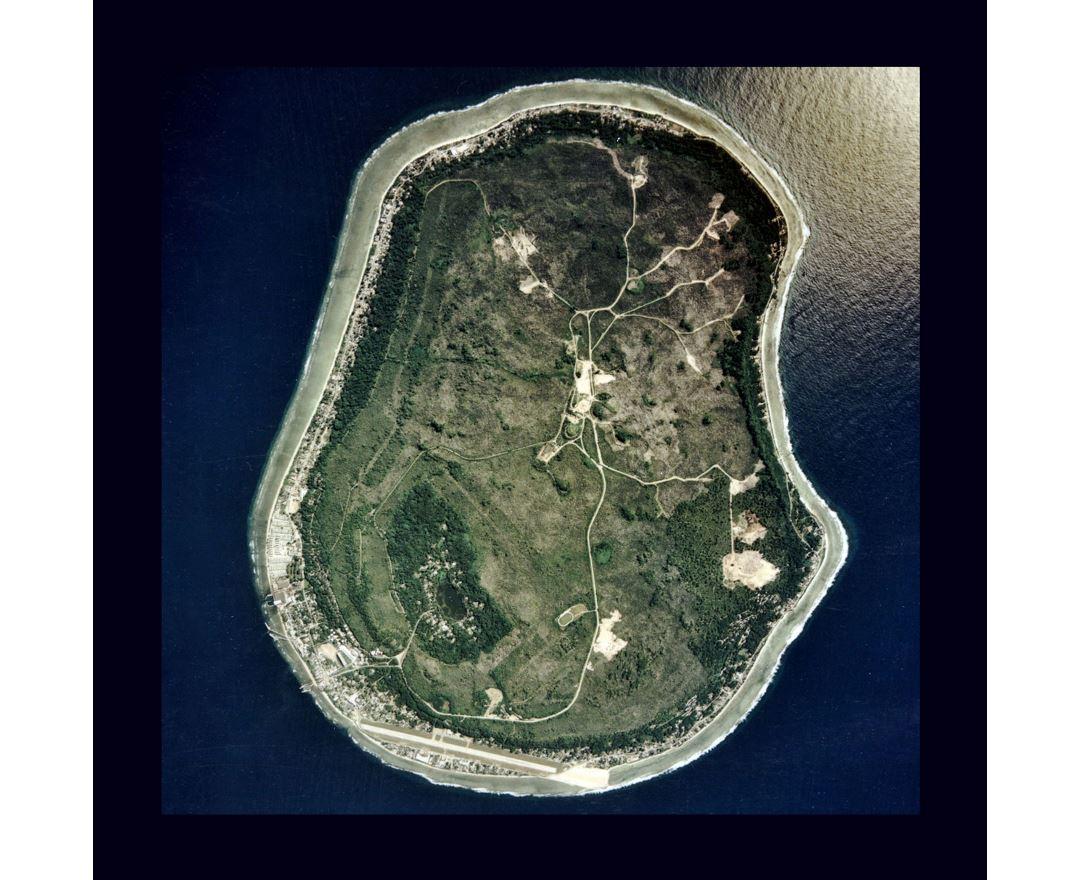 Maps of Nauru Detailed map of Nauru in English Tourist map