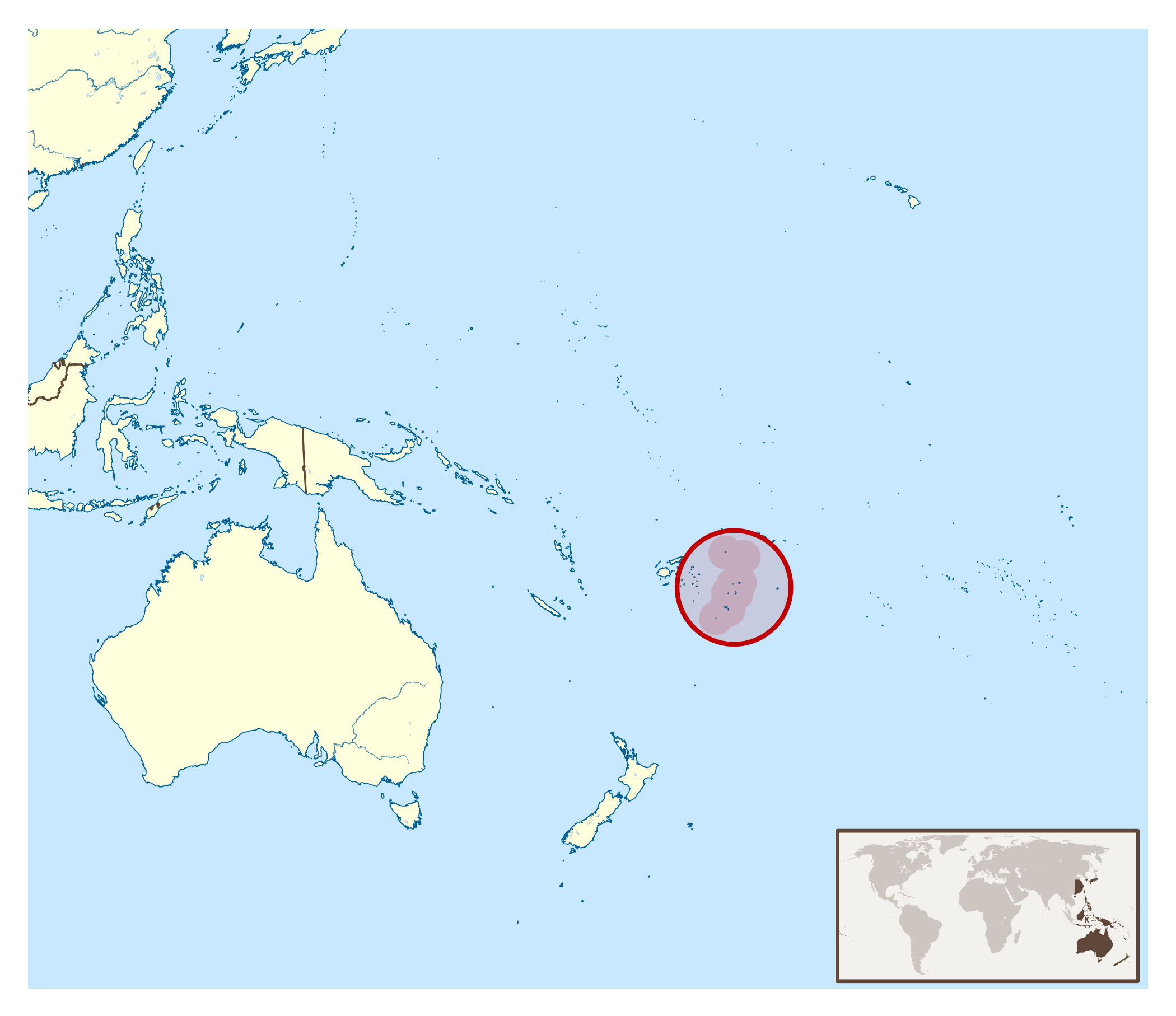 Image of: Large Location Map Of Tonga Tonga Oceania Mapsland Maps Of The World