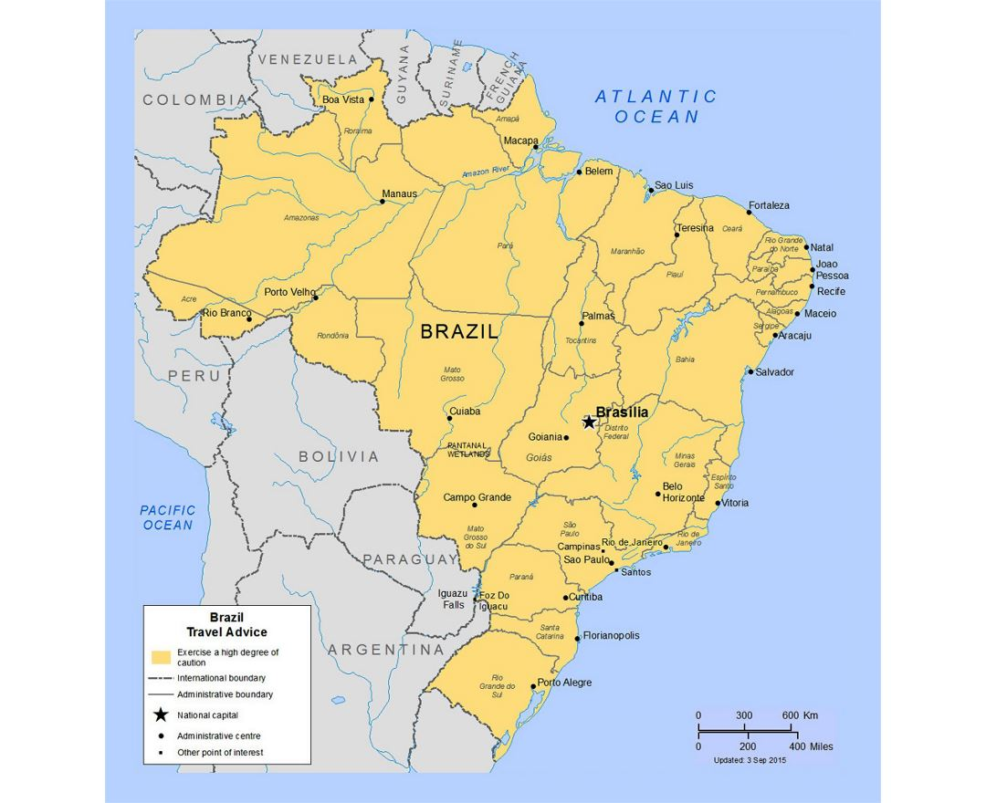 Picture of: Maps Of Brazil Collection Of Maps Of Brazil South America Mapsland Maps Of The World