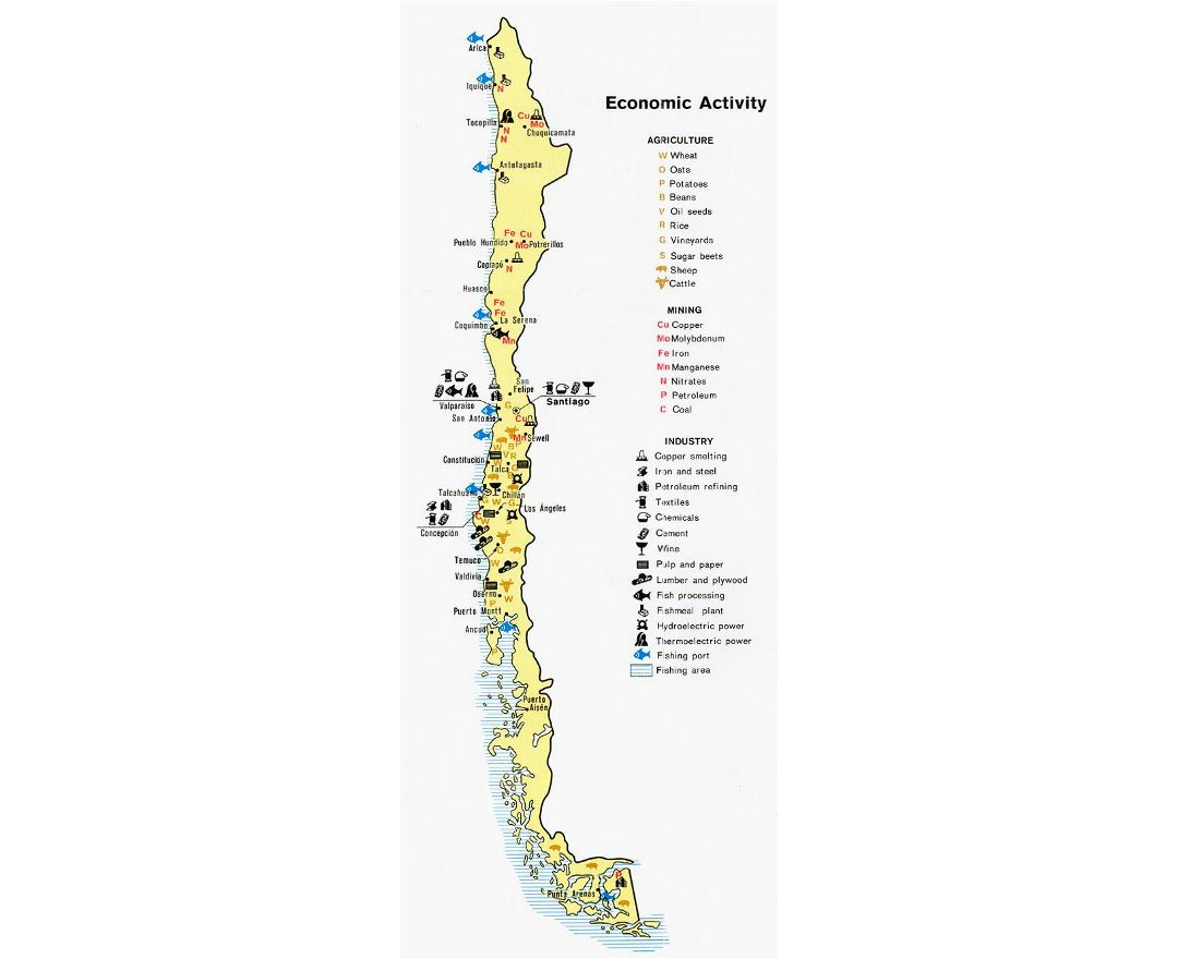 Maps Of Chile Detailed Map Of Chile In English Tourist Map - Map of chile