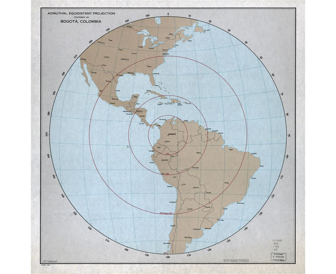 Maps of Colombia | Collection of maps of Colombia | South America ...