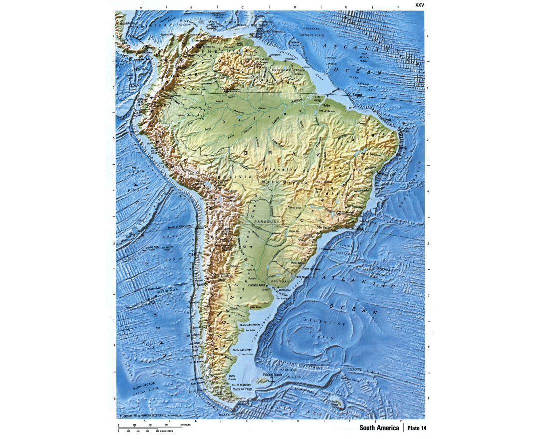 Maps Of South America And South American Countries Collection Of