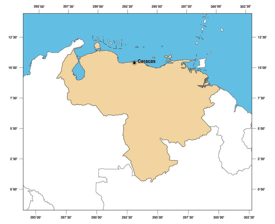 Maps of Venezuela | Collection of maps of Venezuela | South ...
