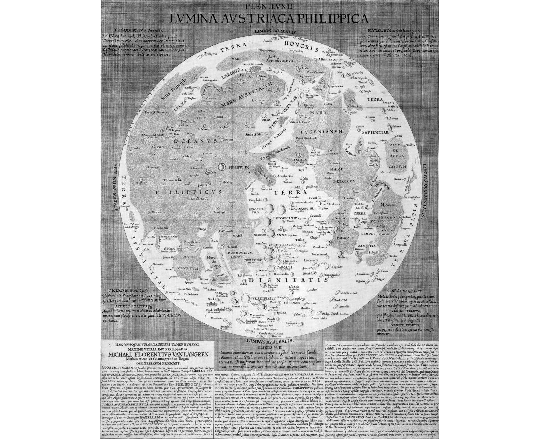 Maps of the Moon | Collection of maps of the Moon | Space ...