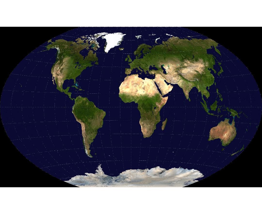 Maps Of The World World Maps Political Maps Physical And - World satellite map with countries