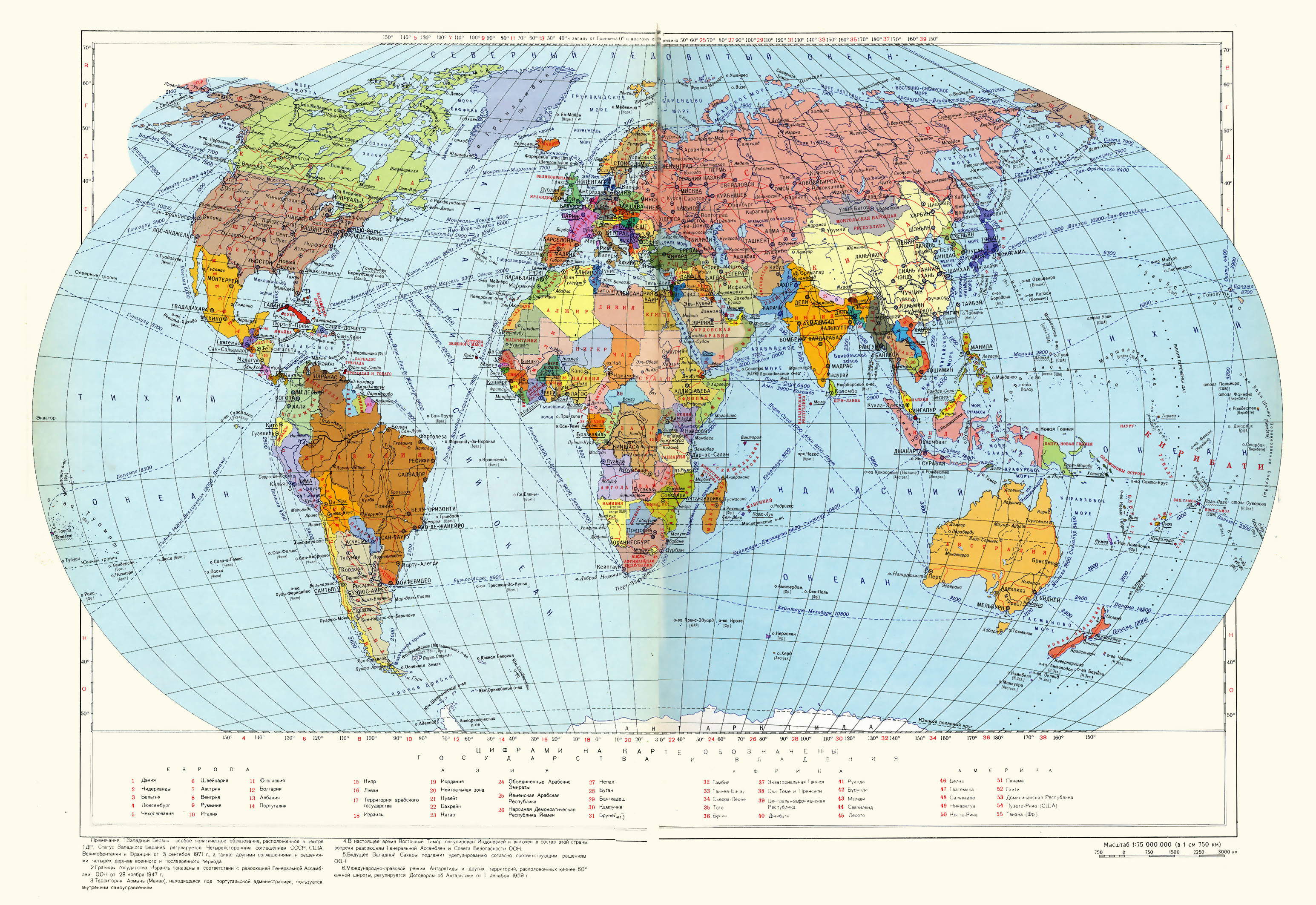 A Political Map Of The World.Large Detailed Political Map Of The World Since Soviet Times World