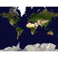 Large scale detailed satellite map of the World | World | Mapsland ...