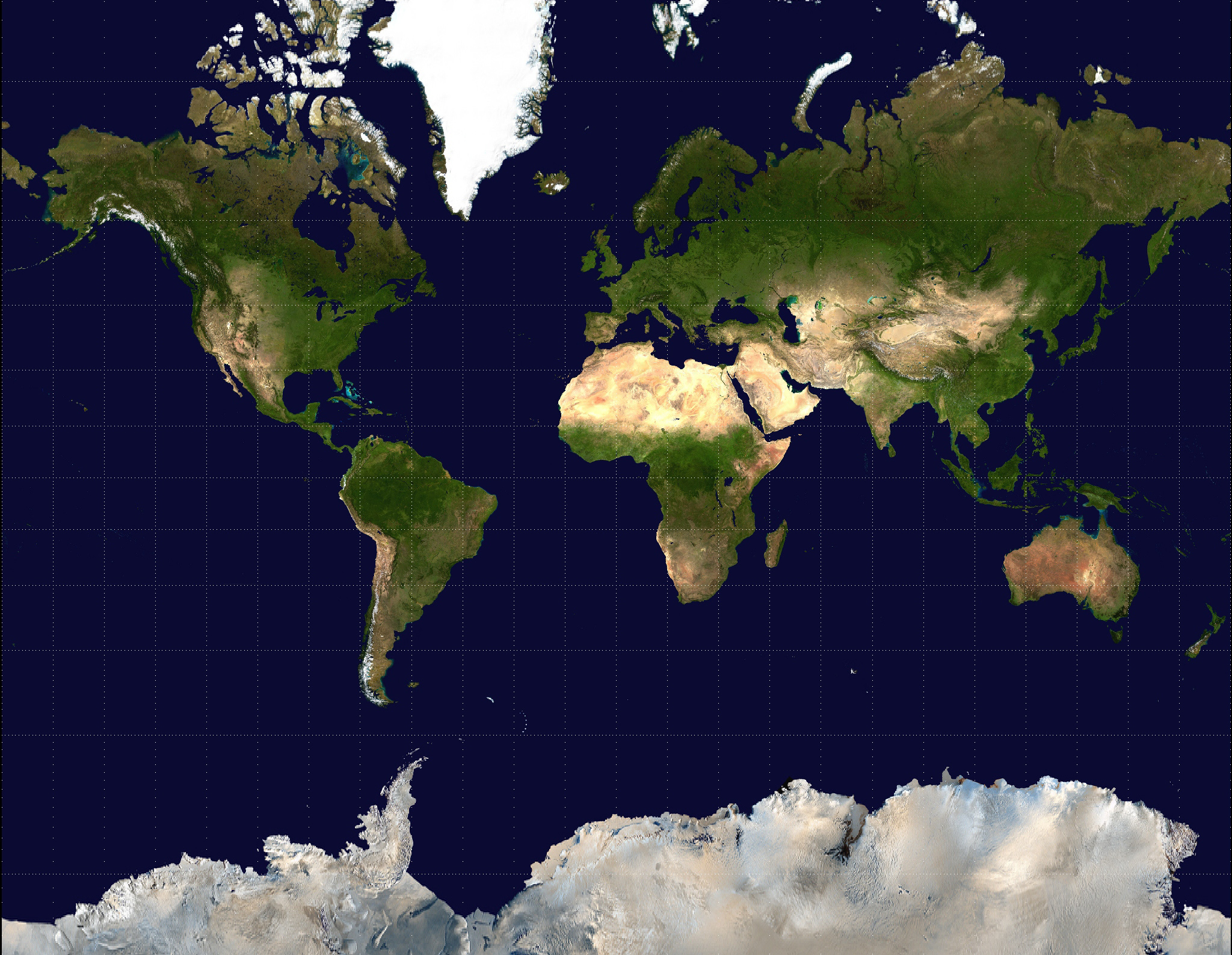 Large Satellite Map Of The World World Mapsland Maps Of The - World map from satellite
