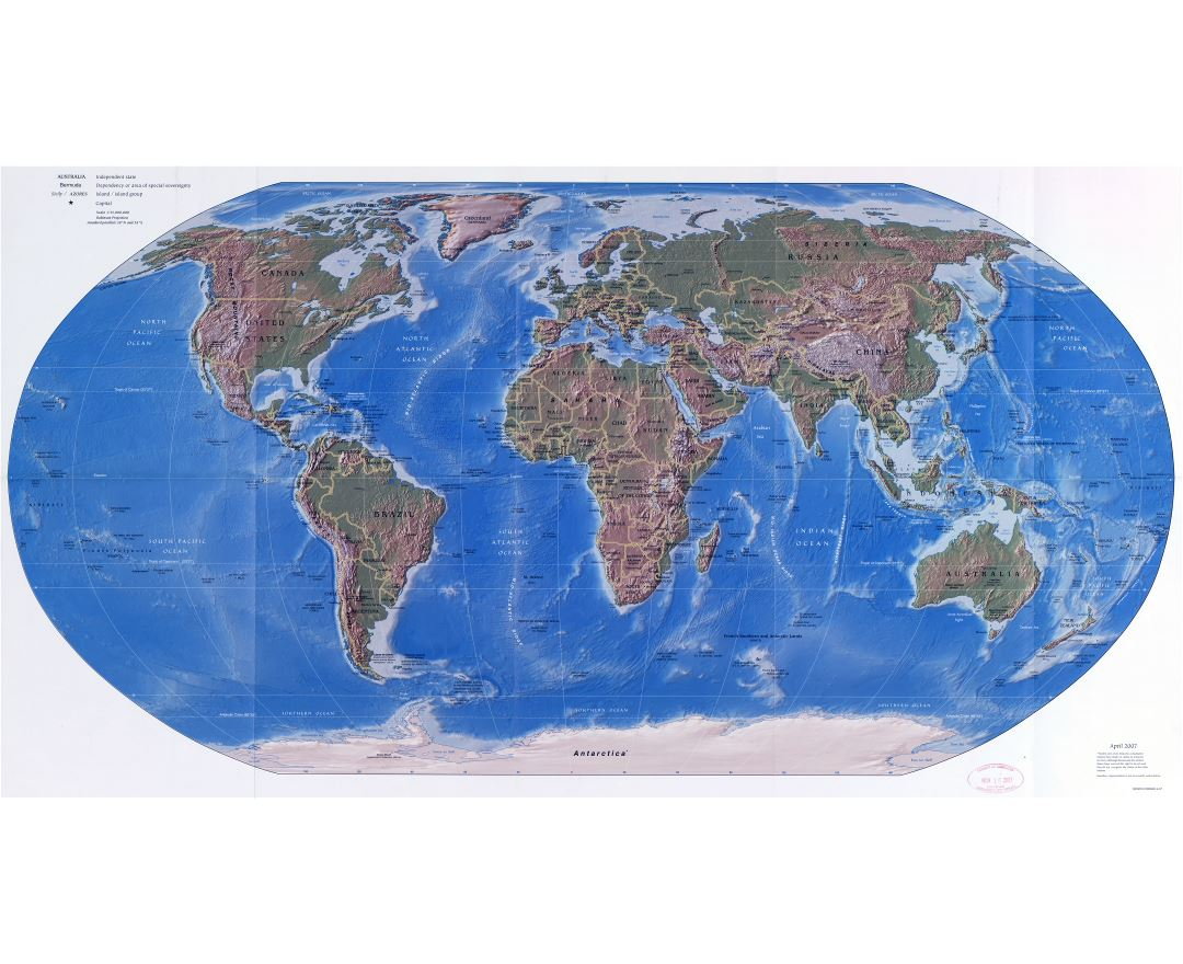 Maps Of The World World Maps Political Maps Physical And - Large us map with states and capitals