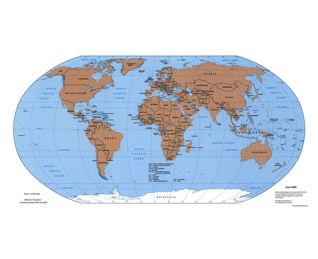 Maps of the World World maps Political maps Physical and Topographical m