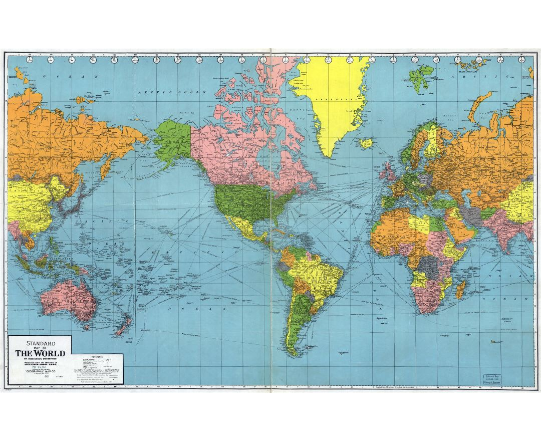 Old Maps Of The World Collection Of Old Maps Of The World From