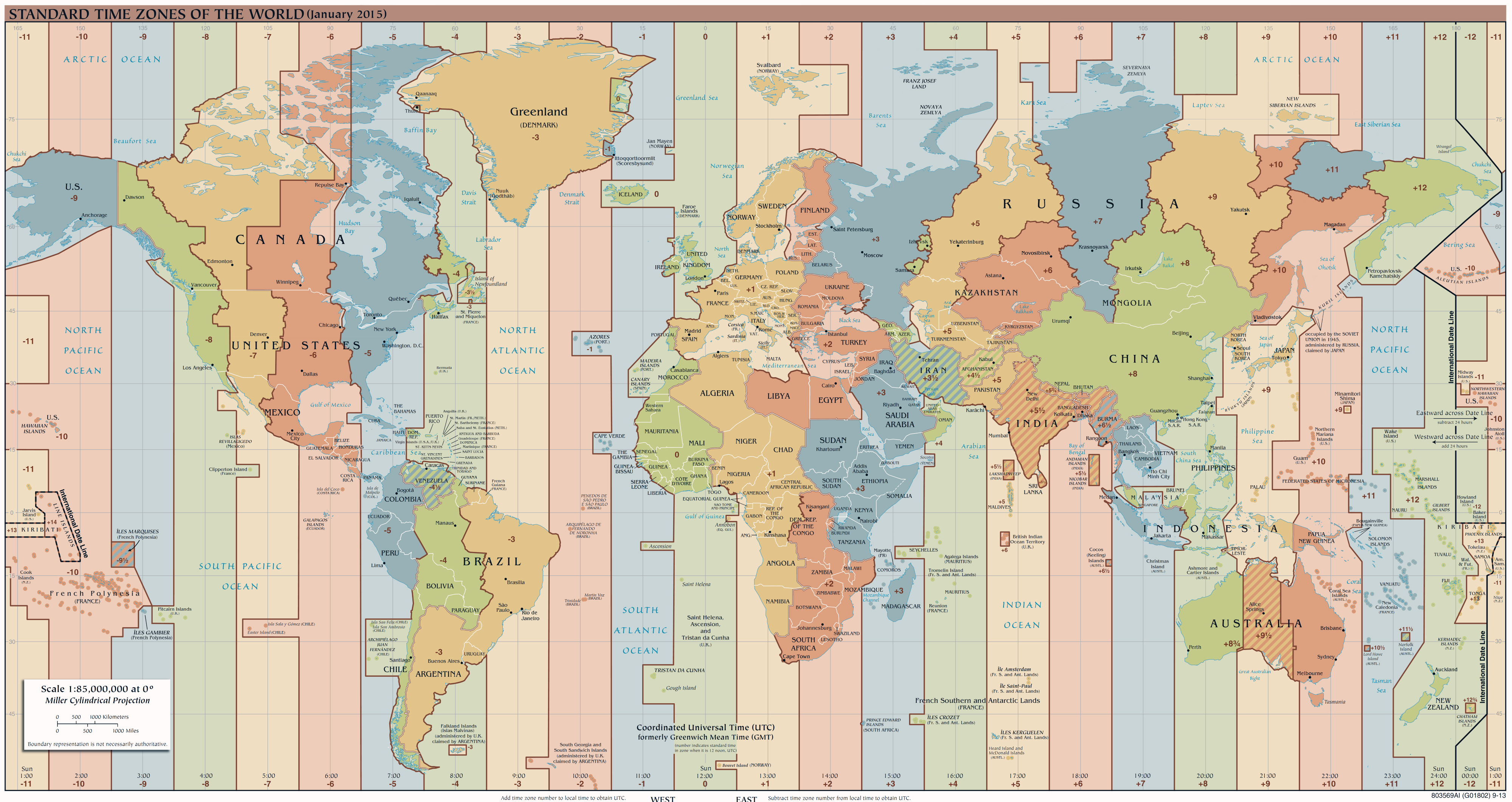 Large detailed time zones map of the world 2015 time zones of large detailed time zones map of the world 2015 gumiabroncs Image collections
